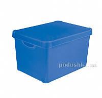 Декоративная Коробка Curver Stockholm Colors 04711-0  цвет - голубой