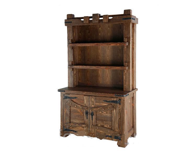 Шкаф - бар из дерева - массив сосна