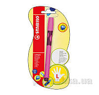 Ручка шариковая для левши Stabilo Leftright 6318/5-BL-41 розовая