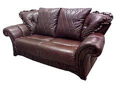 """Комплект стильной кожаной мебели """"Faero"""" (Фаэро). (3р+1), фото 3"""