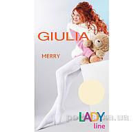 Колготки кремовые зимние для девочки 250 den Merry Giulia Panna 140-146