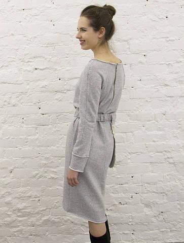 Платье-светшот со съемным поясом-карманом #We'll be counting stars!