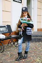Пальто детское  карманы мех  22250, фото 2