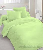 Элементы постельного белья TM Nostra Бязь гладкокрашенная светло-салатовая наволочка 70х70 см