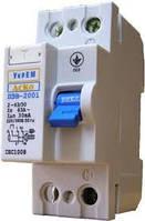 Устройство защитного отключения (УЗО) серии ПЗВ-2001 2p/63А/30мА