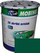 Краска Mobihel Акрил 1л 394 Темно Зеленая.