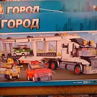 Детский конструктор город,трейлер М0339