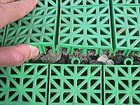 Пластиковая плитка для дачных участков
