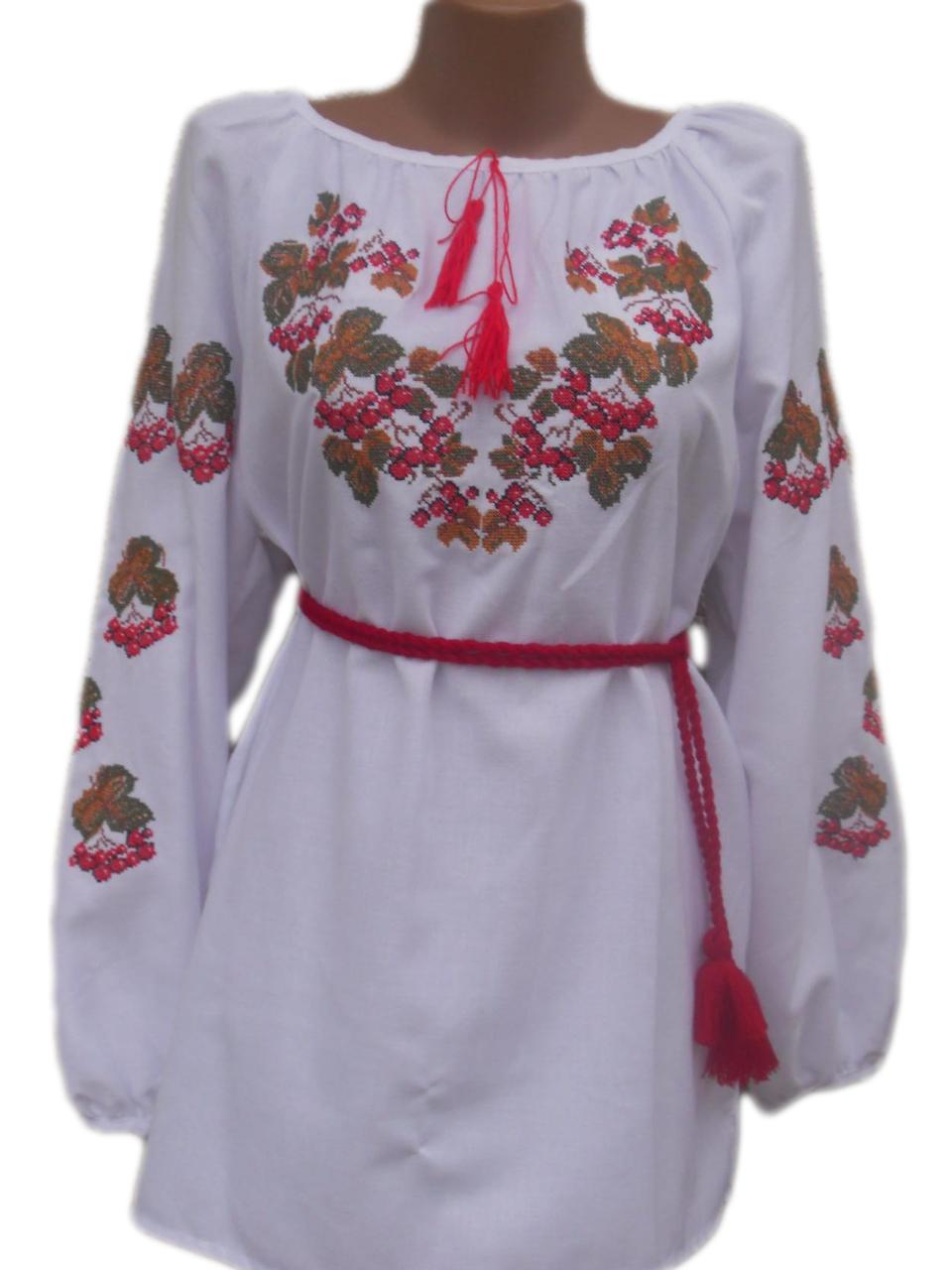 """Жіноча вишита сорочка (блузка) """"Керая"""" (Женская вышитая рубашка (блузка) """"Керая"""") BN-0034"""