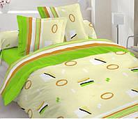 Комплект двуспального постельного белья  хлопковая ткань