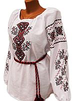 """Жіноча вишита блузка """"Кенія"""" (Женская вышитая блузка """"Кения"""") BN-0048"""