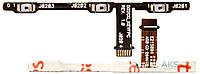Шлейф Asus ZenFone 5 Lite (A502CG) c кнопкой включения и регулировки громкости Original