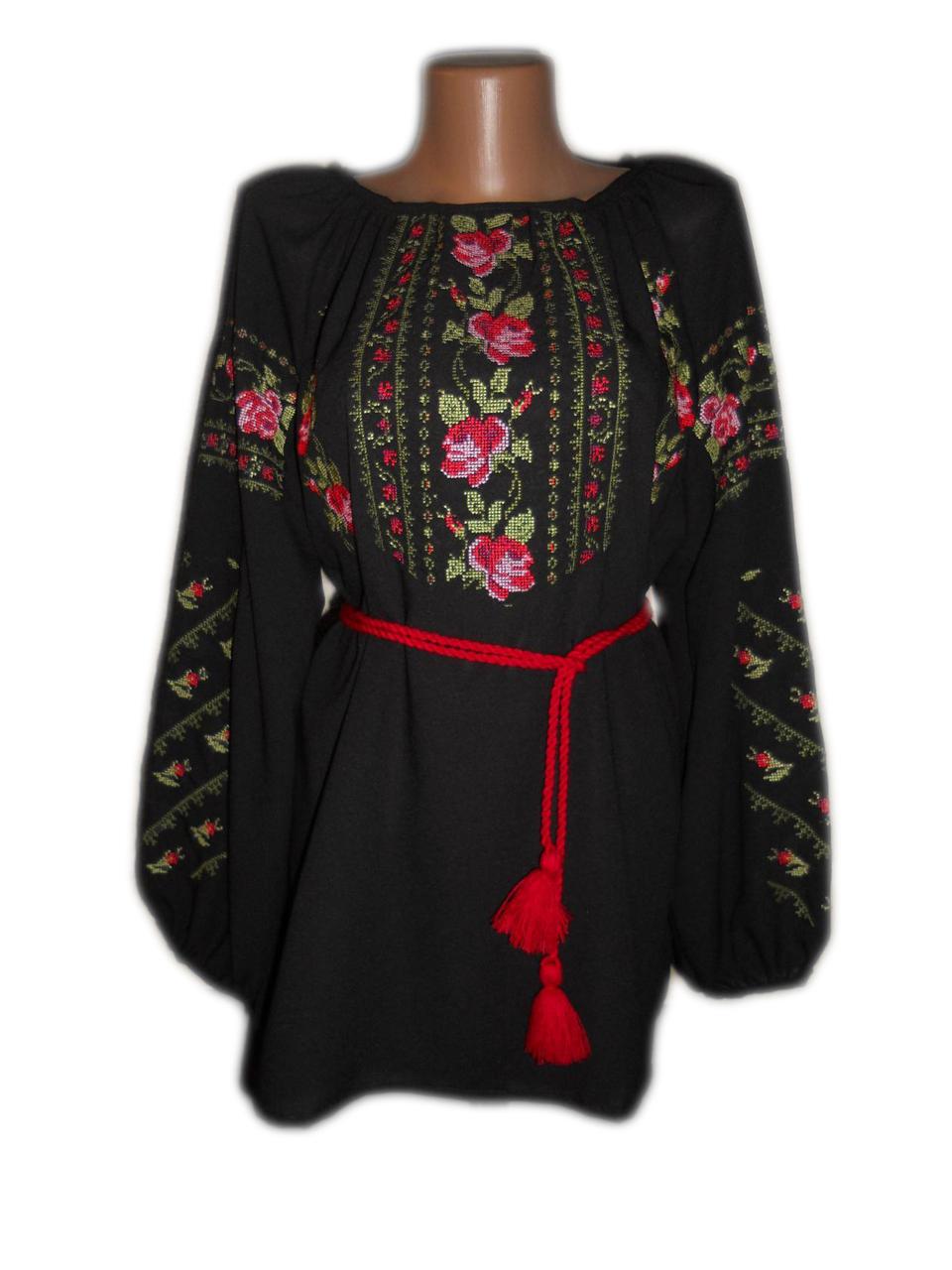 "Жіноча вишита сорочка (блузка) ""Кілен"" (Женская вышитая рубашка (блузка) ""Килен"") BN-0053"