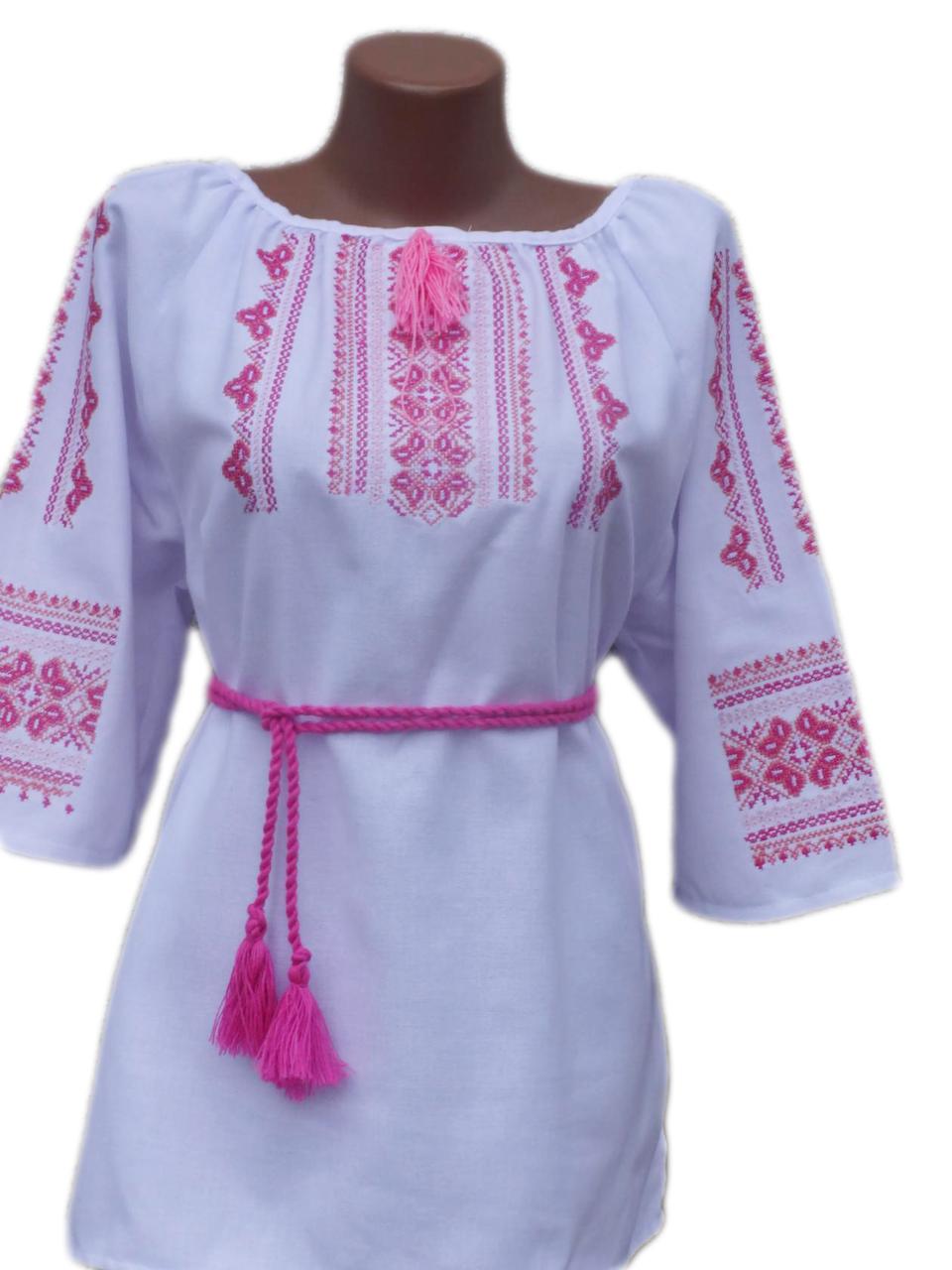 "Жіноча вишита сорочка (блузка) ""Іоанна"" (Женская вышитая рубашка (блузка) ""Иоанна"") BN-0056"