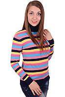 Гольф черный женский под горло 46-48 из вискозы
