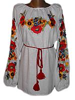 "Вишита жіноча блузка ""Карлес"" (Вышитая женская блузка ""Карлес"") BN-0066"