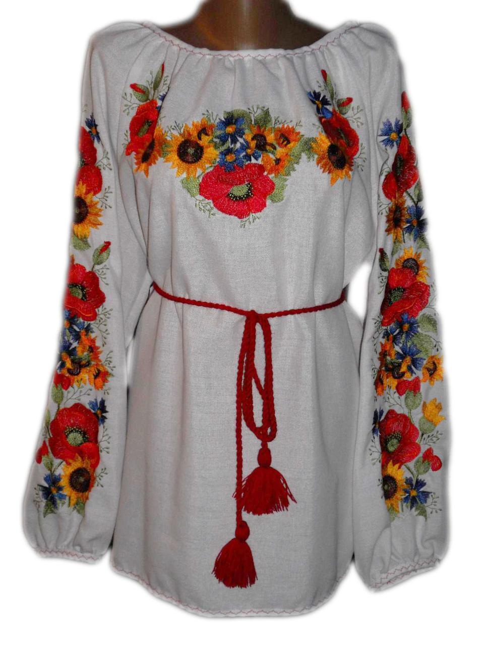 """Женская вышитая рубашка """"Карлес"""" BN-0066"""