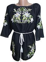 "Жіноча вишита блузка ""Кален"" (Женская вышитая блузка ""Кален"") BN-0067"