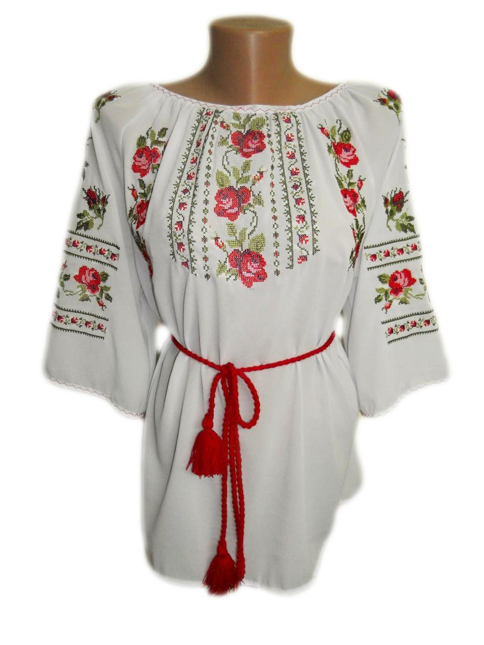 """Женская вышитая рубашка """"Карон"""" BN-0069"""