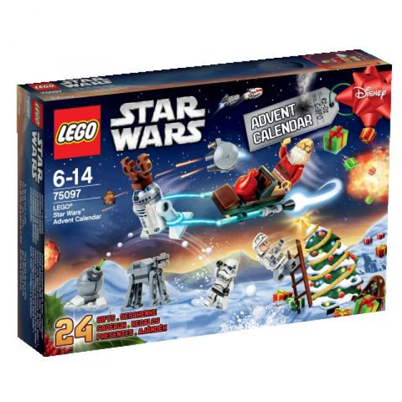 LEGO 75097 Star Wars Різдвяний календар (Лего Новогодний календарь, LEGO Advent Calendar)