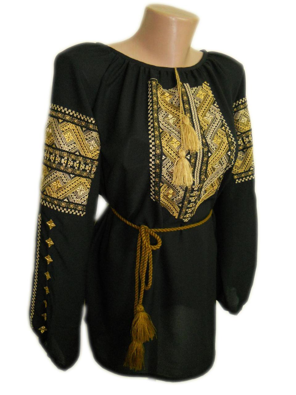 """Женская вышитая рубашка """"Клари"""" BN-0074"""