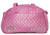 Удобная детская сумка Hello kitty 3030 розовая