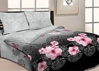 Комплект полуторного постельного белья  100% хлопок набор