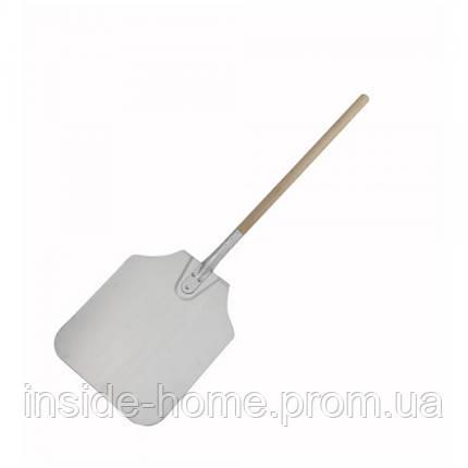 Лопата для пиццы 30*35см с деревянной ручкой 90 см Winco, фото 2