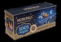 Чай в пакетиках 1001 ночь Черный и Зеленый 25 пакетиков Monomax