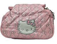 Модная детская сумка Hello kitty 3301 розовая