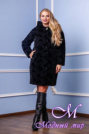 Женское утепленное демисезонное пальто р. 44-60 арт. 981 у Kelly-PL Тон 1, фото 2