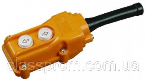Пульт управління ПКТ-61 на 2 кнопки IP 54 IEK