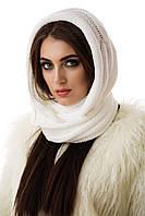 Хомут женский зимний белый