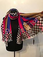 Красивый качественный шарф палантин LV