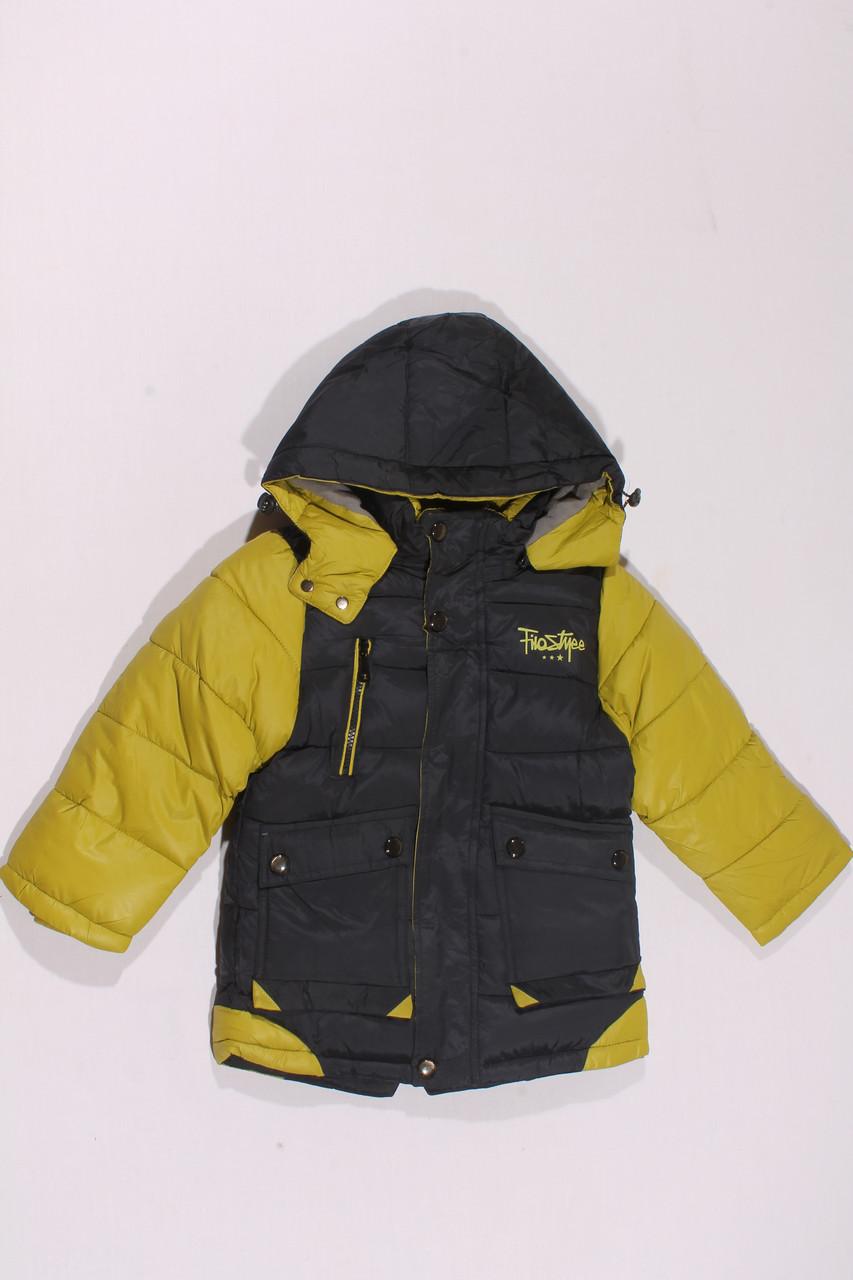4b0e0344c1de Зимняя куртка для мальчиков (110-134)