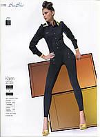 Леггинсы женские модельные комбинированные Bas Bleu Karen 200 Den