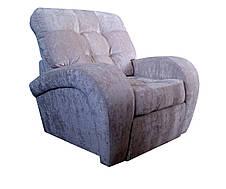 М'яке шкіряне крісло Вінс., фото 3