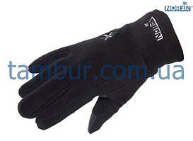 Перчатки женские Norfin Fleece Black для рыбалки, охоты и туризма