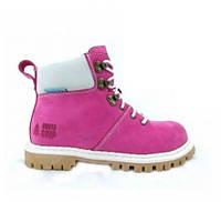 Ботинки BUSTAGRIP BGC-0832PNK+WHT (нубук, кожа, шкіра, черевики)