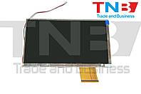 Дисплей 165x98mm 60pin 800x480 HTT700C006A-FPC-1.0
