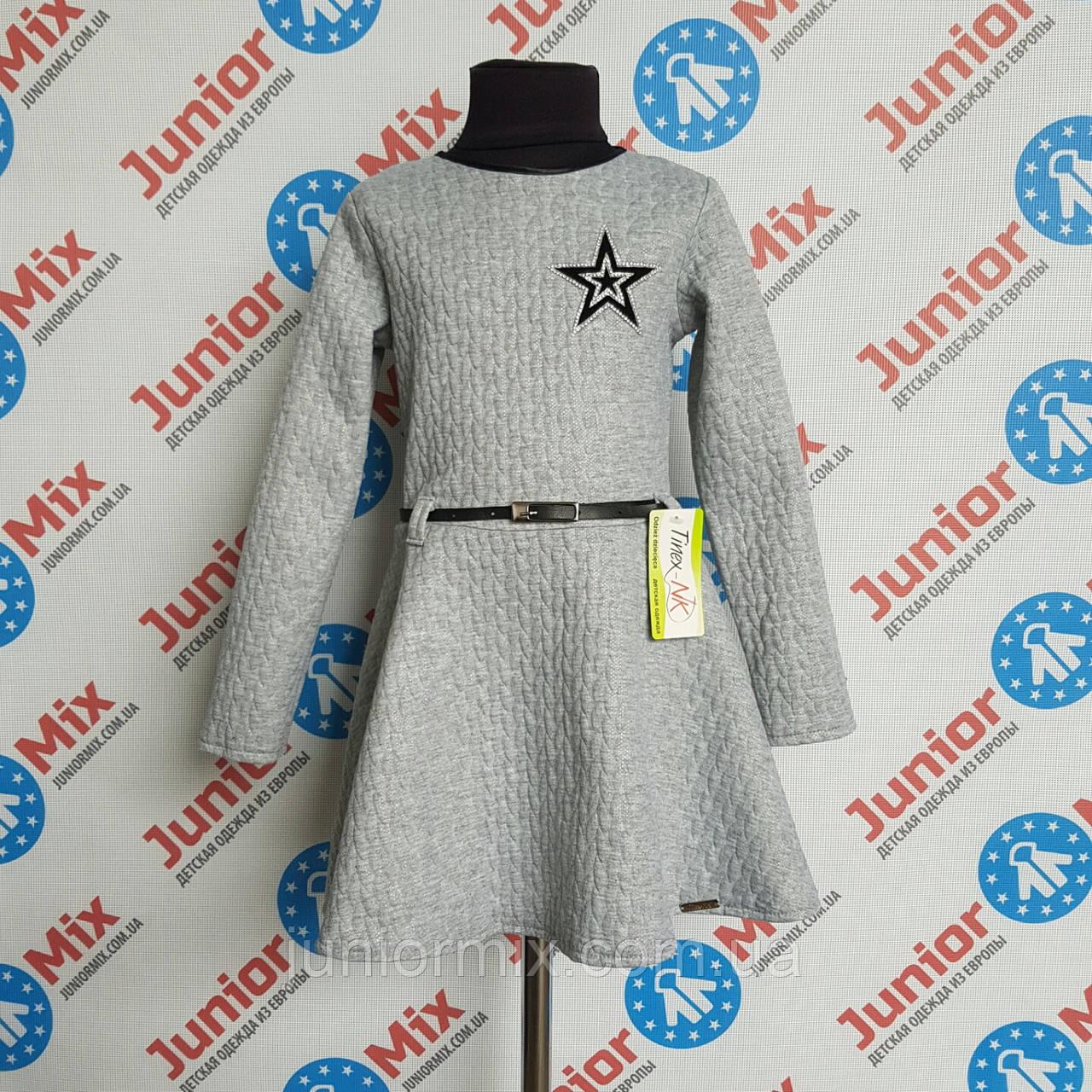 Платье на девочку длинный рукав Tinex-NK. ПОЛЬША