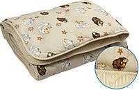 Одеяло детское зимнее шерстяное в бязи Руно (320Барашка)