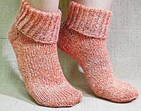 Вязаные носочки ручной работы
