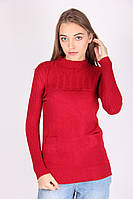 Красная женская кофта из качественного материала