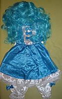 Мальвіна карнавальний костюм, фото 1