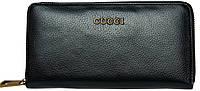 Кожаный кошелек  Leither Purse Gucci black