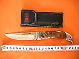 Нож складной COLUMBIA 190 с чехлом, фото 4