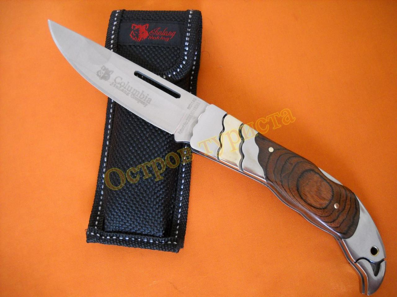 Нож складной COLUMBIA 190 с чехлом