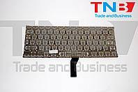 """Клавиатура APPLE Macbook Air A1369 A1466 MC965 MC966 MC503 MC504 13"""" черная (вертикальный энтер) RU/US"""