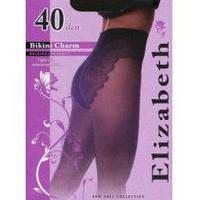 Колготки Elizabeth 40 den Bikini Charm nero (черные)